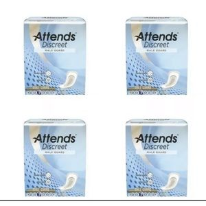 Attends Discreet Male Bladder Control Pads. 80 Ct